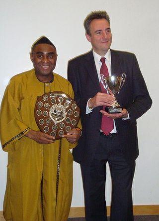 Ola and David London Contest Winners Oct 2011