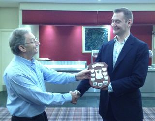 David Lennon Toastmaster of the year 2012