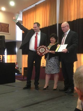 Chris Boden UK & Ireland International Speech Champion 2014