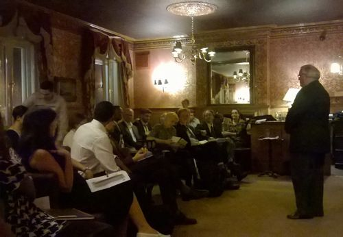 104 London Debaters launch meeting b