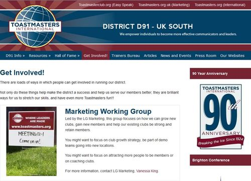 D91 Member Website