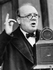 Churchill Speaking