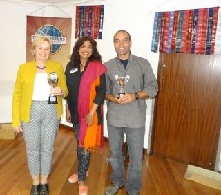 Area 53 contests winners with Anjana