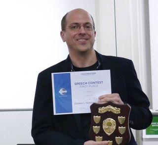 Div L humorous speech winner 2015