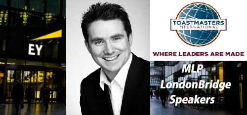 Simon with MLP London Bridge Speakers &TM logo cut