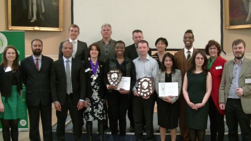 Division B contestants and winners April 2015