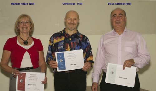 Div H Humorous Speech winners Oct 2014