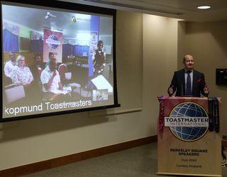 2014 11 03 Daniel Broadhead opens meeting