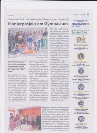 Austrian YLP newspaper