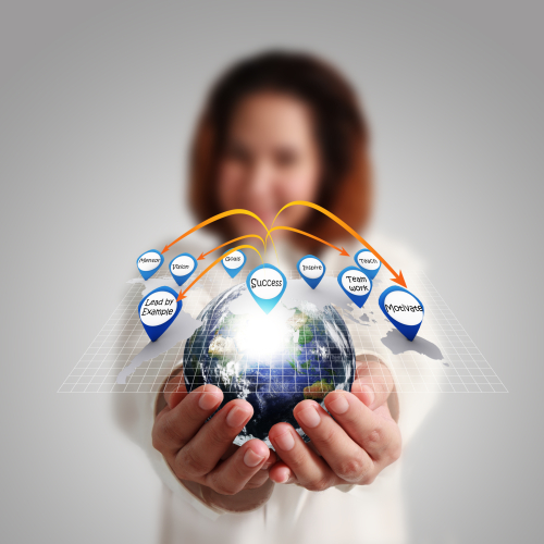 Businesswoman-hand-holds-globe-and-social-network_M1ePjKS_