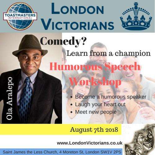Ola aralepo at london victorians