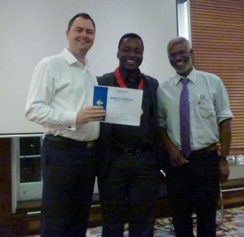Area 34 Evaluation Contest Winner 2012